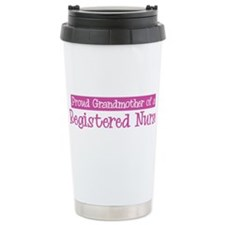 Grandmother of a Registered N Ceramic Travel Mug