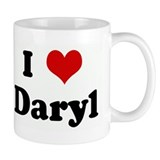I Love Daryl Mug
