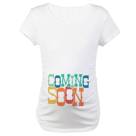 Bouncy Coming Soon Maternity T-Shirt