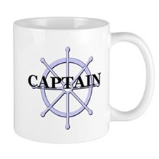 Captain Ship Wheel Mug