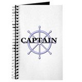 Captain Ship Wheel Journal