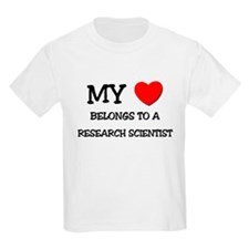 My Heart Belongs To A RESEARCH SCIENTIST T-Shirt