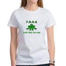 F.R.O.G. - Fully Rely on God Tee