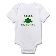 F.R.O.G. - Fully Rely on God Infant Bodysuit