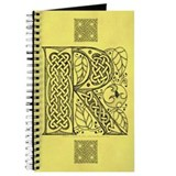 Celtic Letter R Journal