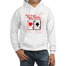 You Can Rub Them For Luck! Hoodie