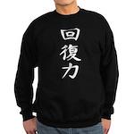Resilience - Kanji Symbol Sweatshirt (dark)