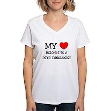 My Heart Belongs To A PSYCHOBIOLOGIST Shirt
