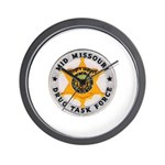 Mid Missouri Drug Task Force Wall Clock