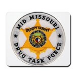 Mid Missouri Drug Task Force Mousepad