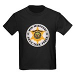 Mid Missouri Drug Task Force Kids Dark T-Shirt