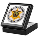 Mid Missouri Drug Task Force Keepsake Box