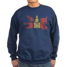 Mongol Horse Distressed Sweatshirt
