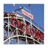 Coney Island Cyclone Tile Coaster