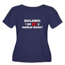 Disclaimer: Not a Dr! Women's Plus Size Scoop Neck