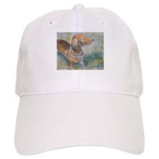 Flower Child a Dachshund Baseball Cap