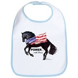 Friesian Flag Bib
