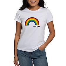 Not Gay Rainbow Tee