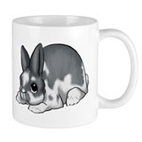 Broken Blue Mini Rex Mug