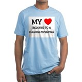 My Heart Belongs To A PLANNING TECHNICIAN Shirt