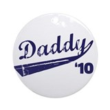 dad to be t-shirt 2010 Ornament (Round)