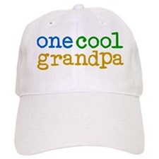 one cool grandpa Baseball Cap