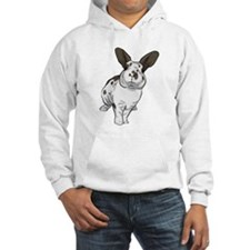 Broken Chocolate Mini Rex Hoodie