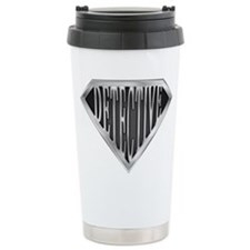 SuperDetective(metal) Ceramic Travel Mug