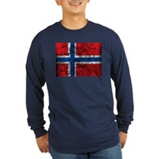 Vintage Norway Flag T