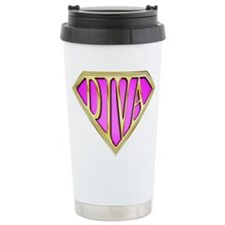 SuperDiva(Bling) Ceramic Travel Mug