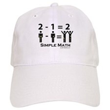 Simple Math Baseball Cap