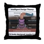 ID Rotary Motor Throw Pillow