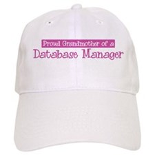 Grandmother of a Database Man Baseball Cap