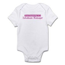 Grandmother of a Database Man Infant Bodysuit