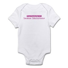 Grandmother of a Database Adm Infant Bodysuit