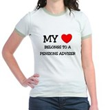 My Heart Belongs To A PENSIONS ADVISER T