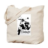 Vintage Scooter Tote Bag