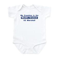 Grandma is Greatest US Marsha Infant Bodysuit