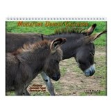 Miniature Donkey Wall Calendar