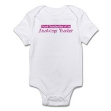 Grandmother of a Anatomy Teac Infant Bodysuit