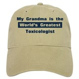 Grandma is Greatest Toxicolog Baseball Cap