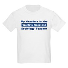 Grandma is Greatest Sociology T-Shirt