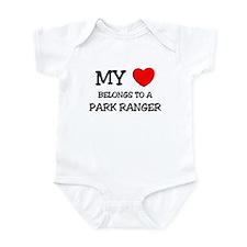 My Heart Belongs To A PARK RANGER Infant Bodysuit