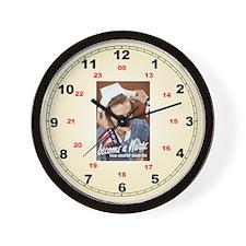 Become A Nurse Wall Clock