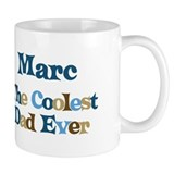 Marc - Coolest Dad Small Mugs