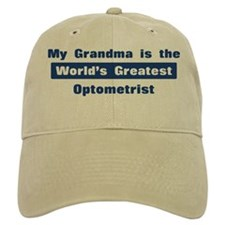 Grandma is Greatest Optometri Baseball Cap