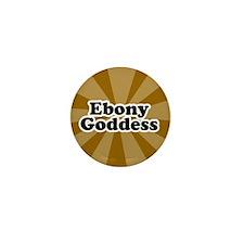 Cute Ebony Mini Button (10 pack)