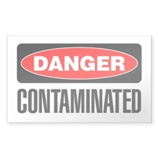 Danger: Contaminated Decal