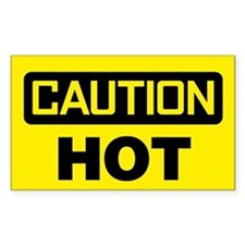 Caution: Hot Decal