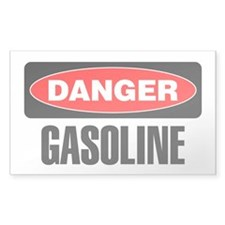 Danger: Gasoline Decal